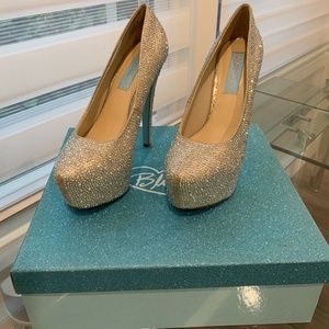 Betsey Johnson Rhinestone, Sparkling Shoes